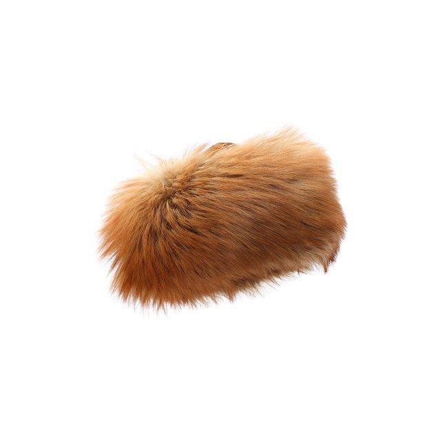Шапка Полина из меха лисы и норки FurLand