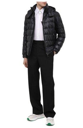 Мужская пуховая куртка VALENTINO черного цвета, арт. VV3CNA3170V   Фото 2