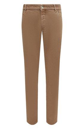 Мужские джинсы BRUNELLO CUCINELLI темно-бежевого цвета, арт. M262PB2210 | Фото 1