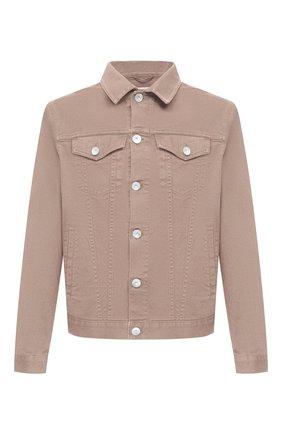 Мужская джинсовая куртка BRUNELLO CUCINELLI бежевого цвета, арт. M277P6845 | Фото 1