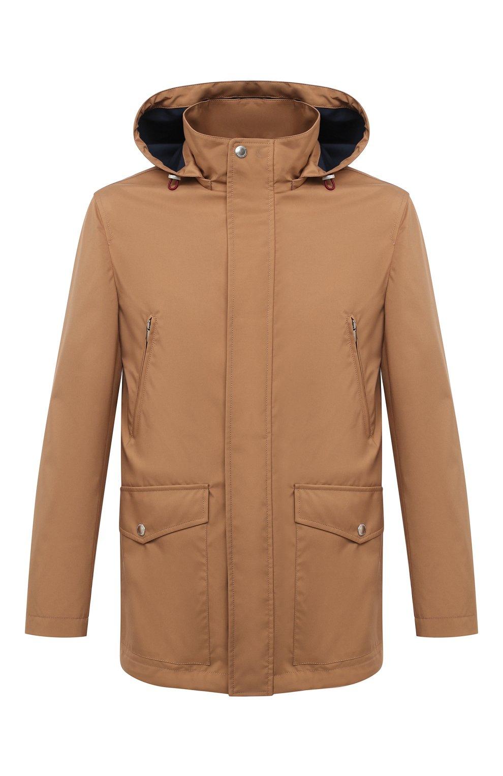 Мужская куртка BRUNELLO CUCINELLI светло-коричневого цвета, арт. MW4376442 | Фото 1