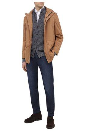 Мужская куртка BRUNELLO CUCINELLI светло-коричневого цвета, арт. MW4376442 | Фото 2