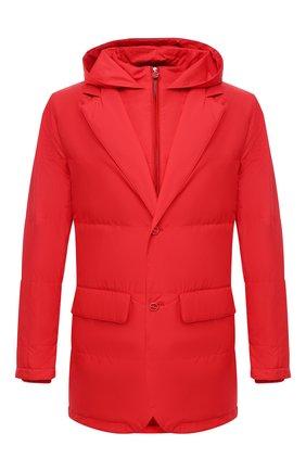 Мужская куртка KITON красного цвета, арт. UW0859MV07T61 | Фото 1 (Материал подклада: Синтетический материал; Кросс-КТ: Ветровка, Куртка; Рукава: Длинные; Материал внешний: Синтетический материал; Стили: Кэжуэл; Длина (верхняя одежда): До середины бедра)