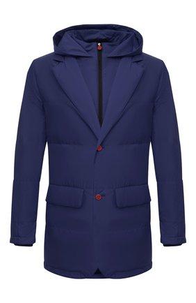 Мужская куртка KITON темно-синего цвета, арт. UW0859MV07T61   Фото 1