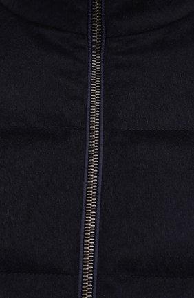Мужской пуховый жилет KITON темно-синего цвета, арт. UW0949MK01140 | Фото 5