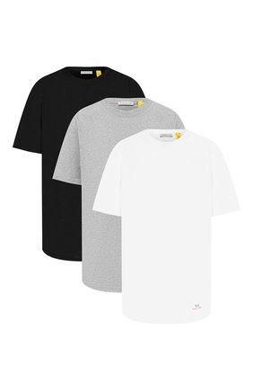 Женская комплект из трех футболок 6 moncler х 1017 alyx 9sm MONCLER GENIUS разноцветного цвета, арт. F2-09Y-8C710-10-829L0   Фото 1