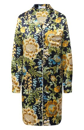 Женская шелковая сорочка OLIVIA VON HALLE разноцветного цвета, арт. PS2133 | Фото 1