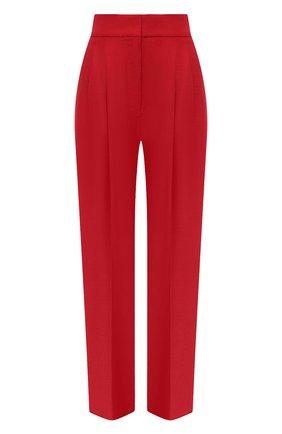 Женские льняные брюки BRUNELLO CUCINELLI красного цвета, арт. MH506P7647 | Фото 1