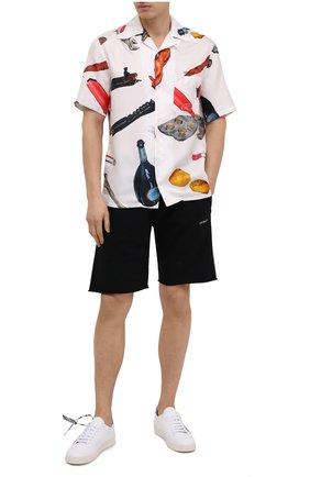 Мужские кожаные кеды 2.0 OFF-WHITE белого цвета, арт. 0MIA042R21LEA0020125   Фото 2