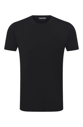 Мужская футболка TOM FORD черного цвета, арт. BW229/TFJ950 | Фото 1