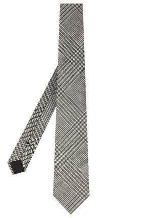 Мужской шелковый галстук TOM FORD серого цвета, арт. 9TF53/XTF | Фото 2 (Материал: Шелк, Текстиль; Принт: С принтом)