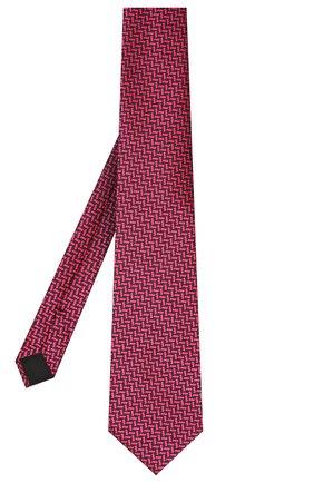 Мужской шелковый галстук TOM FORD фуксия цвета, арт. 9TF37/XTF | Фото 2