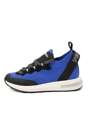 Детские кроссовки DSQUARED2 синего цвета, арт. 66936/T0MAIA/CR0STA/SCUBA/36-41 | Фото 2