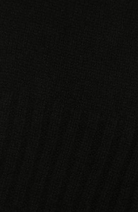 Детский кашемировый шарф GIORGETTI CASHMERE черного цвета, арт. MB1669/8A | Фото 2