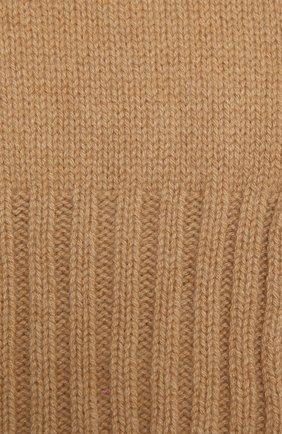 Детский кашемировый шарф GIORGETTI CASHMERE бежевого цвета, арт. MB1669/4A   Фото 2