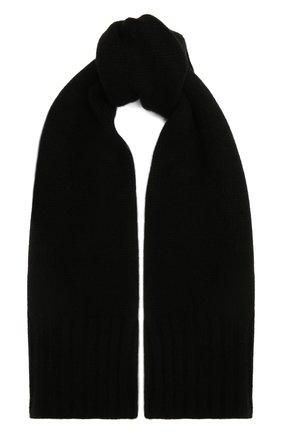 Детский кашемировый шарф GIORGETTI CASHMERE черного цвета, арт. MB1669/4A | Фото 1