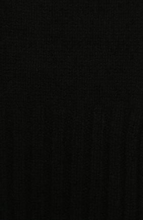 Детский кашемировый шарф GIORGETTI CASHMERE черного цвета, арт. MB1669/4A | Фото 2