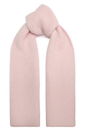 Детский кашемировый шарф GIORGETTI CASHMERE розового цвета, арт. MB1696/4A | Фото 1