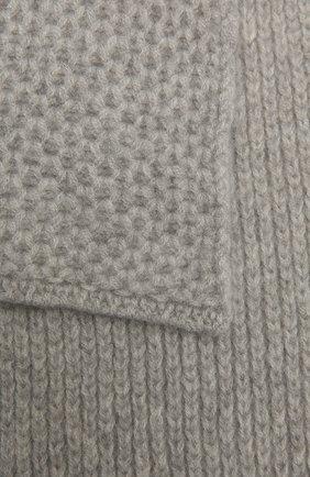 Детский кашемировый шарф GIORGETTI CASHMERE светло-серого цвета, арт. MB1696/4A | Фото 2