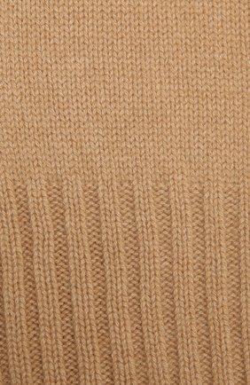 Детский кашемировый шарф GIORGETTI CASHMERE бежевого цвета, арт. MB1669/14A | Фото 2