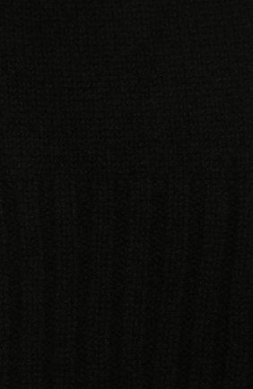 Детский кашемировый шарф GIORGETTI CASHMERE черного цвета, арт. MB1669/14A | Фото 2