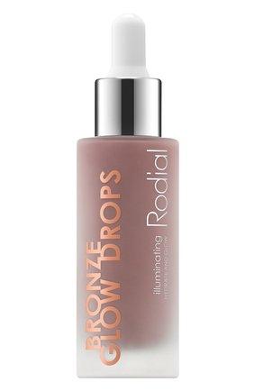 Сыворотка для лица для сияния кожи bronze glow drops RODIAL бесцветного цвета, арт. 5060027068778 | Фото 1