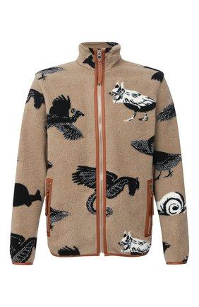 Мужская куртка LOEWE бежевого цвета, арт. H526330X64 | Фото 1