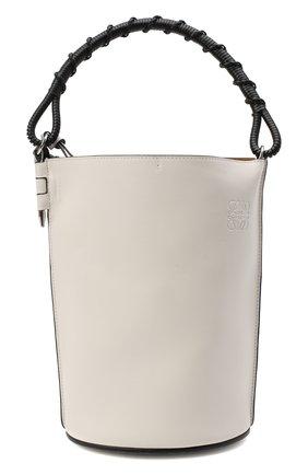 Женская сумка gate bucket LOEWE белого цвета, арт. 329.56.Z85 | Фото 1