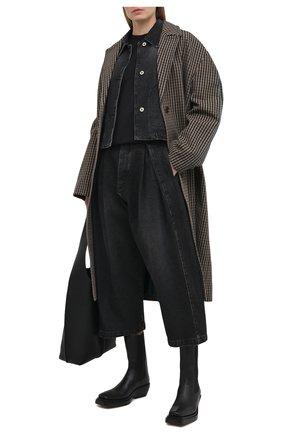Женские джинсы LOEWE черного цвета, арт. S359331XB1   Фото 2