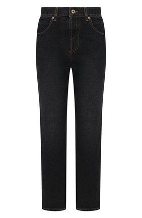 Женские джинсы LOEWE черного цвета, арт. S359331XB2 | Фото 1