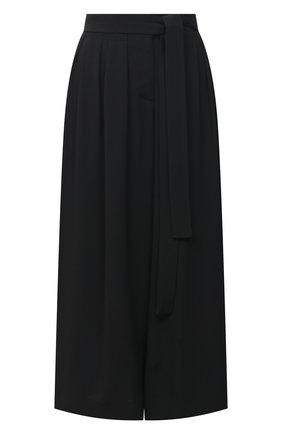 Женские кюлоты LOEWE черного цвета, арт. S359331XCI | Фото 1