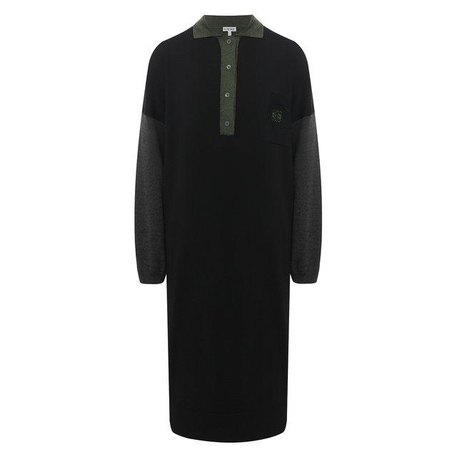 Шерстяное платье Loewe