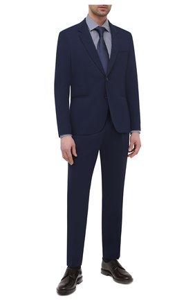 Мужской костюм HUGO темно-синего цвета, арт. 50445213 | Фото 1