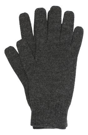 Мужские кашемировые перчатки CANOE темно-серого цвета, арт. 6916911 | Фото 1
