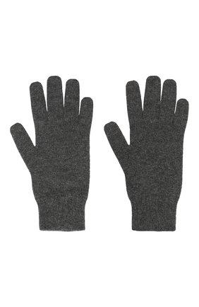 Мужские кашемировые перчатки CANOE темно-серого цвета, арт. 6916911 | Фото 2