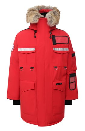 Мужская пуховая парка resolute CANADA GOOSE красного цвета, арт. 8501M   Фото 1