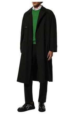 Мужские кожаные кеды vl7n valentino garavani VALENTINO черного цвета, арт. VY2S0C58/WRQ | Фото 2