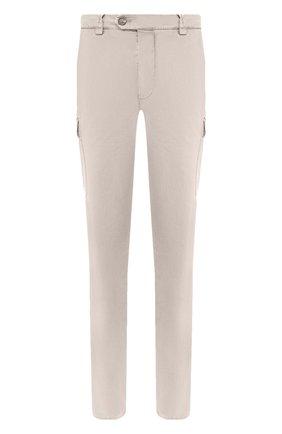 Мужские хлопковые брюки-карго BRUNELLO CUCINELLI бежевого цвета, арт. M289LE1890 | Фото 1