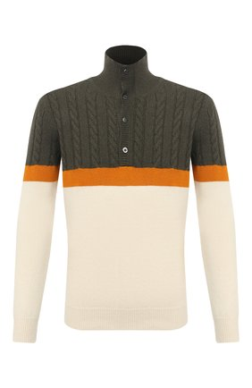 Мужской кашемировый свитер ZILLI SPORT разноцветного цвета, арт. MBU-CB593-Y0UN9/ML01 | Фото 1