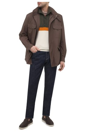 Мужской кашемировый свитер ZILLI SPORT разноцветного цвета, арт. MBU-CB593-Y0UN9/ML01 | Фото 2