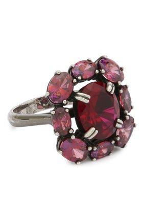 Женское кольцо classy DZHANELLI красного цвета, арт. 0715 | Фото 1