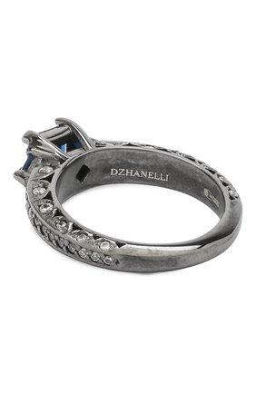 Женское кольцо classy DZHANELLI синего цвета, арт. 0483 | Фото 2