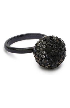 Женское кольцо DZHANELLI черного цвета, арт. 0723 | Фото 1