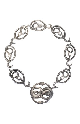 Женское колье serpentes DZHANELLI серебряного цвета, арт. 0358 | Фото 1