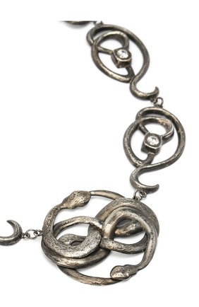 Женское колье serpentes DZHANELLI серебряного цвета, арт. 0358 | Фото 2