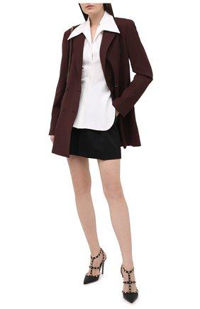 Женские кожаные туфли valentino garavani rockstud VALENTINO черного цвета, арт. VW2S0393/VCE | Фото 2