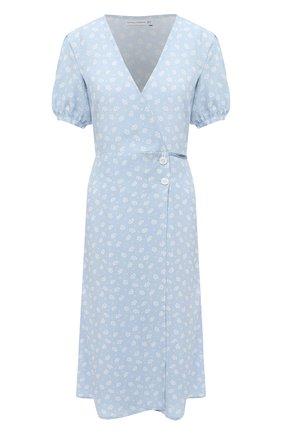 Женское платье из вискозы FAITHFULL THE BRAND голубого цвета, арт. FF1571-LEV | Фото 1