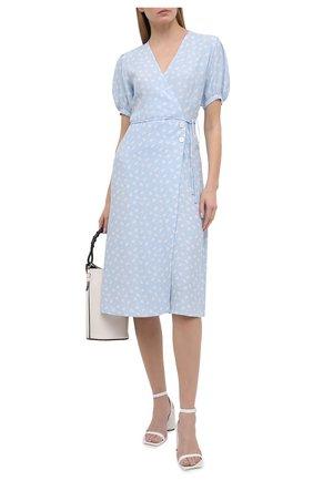 Женское платье из вискозы FAITHFULL THE BRAND голубого цвета, арт. FF1571-LEV | Фото 2