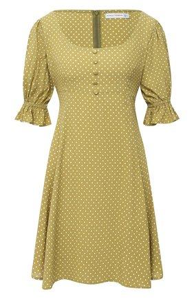 Женское платье из вискозы FAITHFULL THE BRAND зеленого цвета, арт. FF1586-BDF | Фото 1