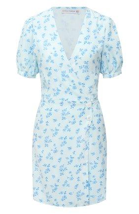 Женское платье из вискозы FAITHFULL THE BRAND голубого цвета, арт. FF1619-LEV | Фото 1